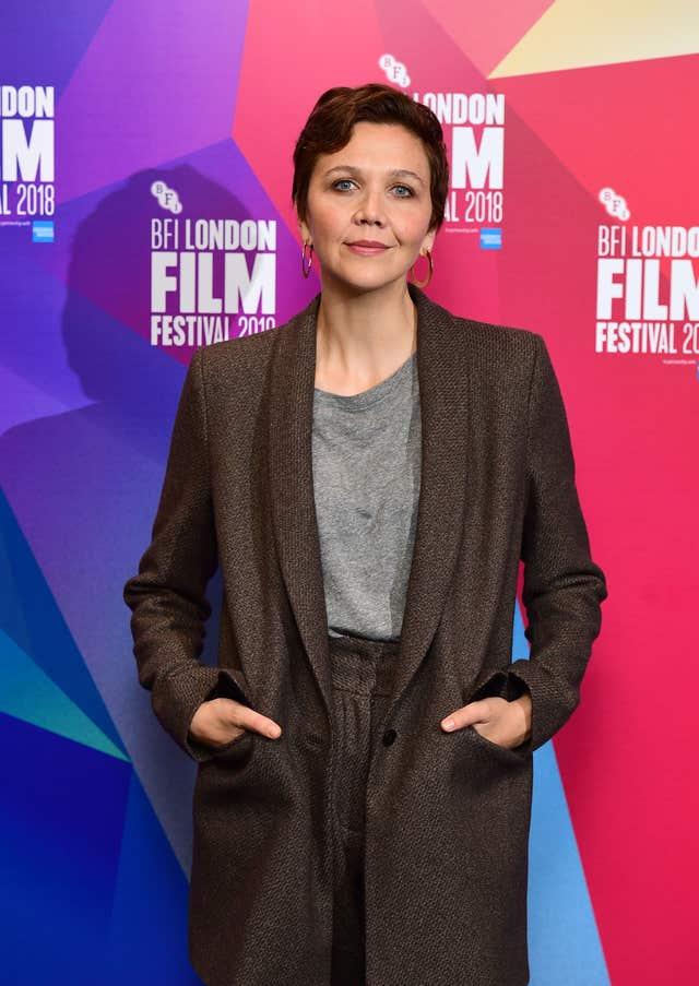 Maggie Gyllenhaal screen talk – 62nd BFI London Film Festival