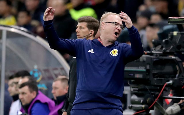 McLeish endured agony in the Astana Arena