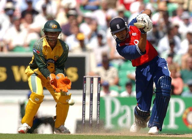 Solanki in his playing days for England.