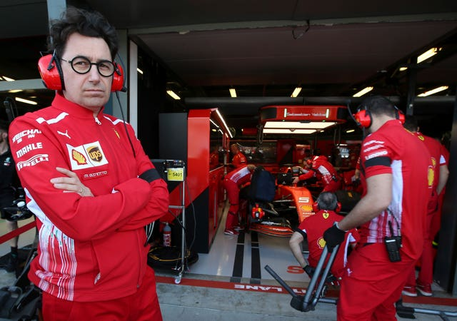 Mattia Binotto is the new Ferrari team principal