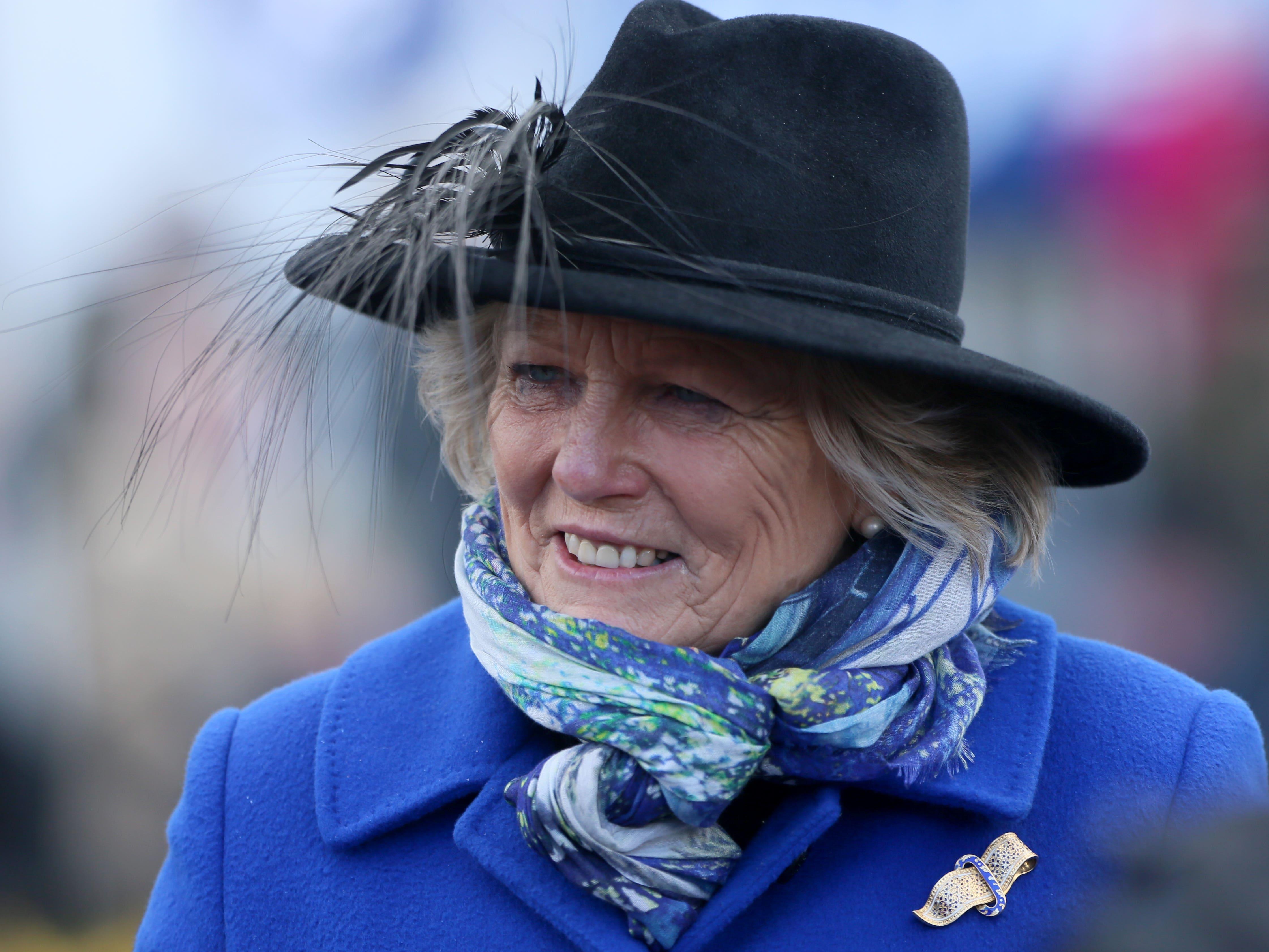 Jessica Harrington enjoyed a big-race double at Cork (PA)
