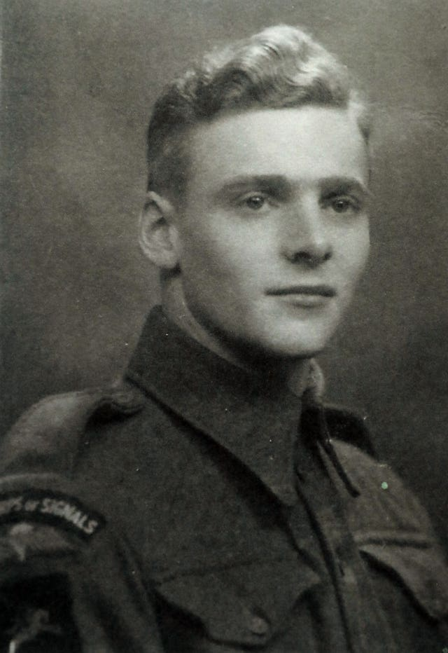 Harry Read, pictured aged 19
