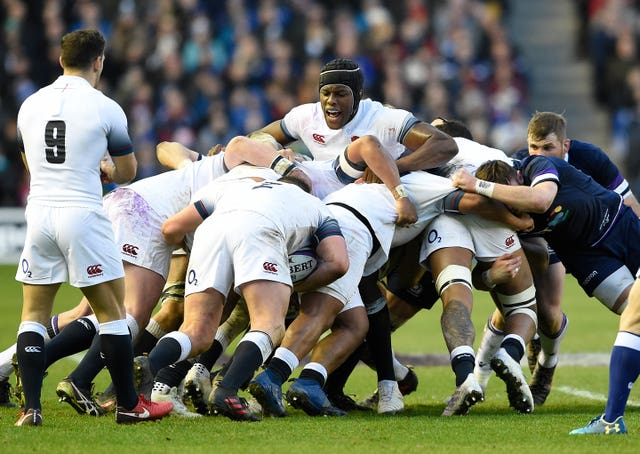 Maro Itoje feels the scrum is important to England's game