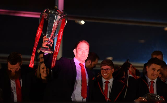 Wales 2019 Guinness Six Nations Grand Slam Winners Celebration