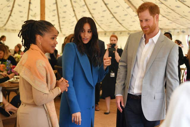 Meghan, Doria and Harry