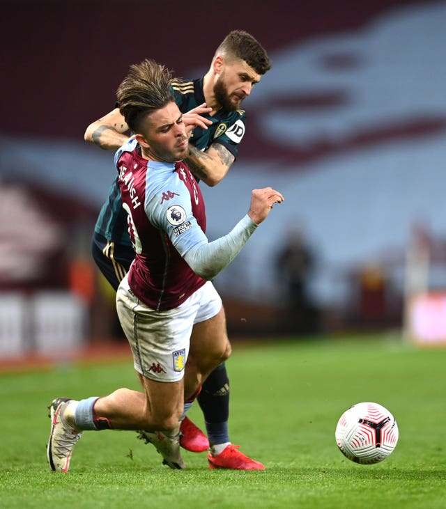Leeds kept Villa captain Jack Grealish under wraps on Friday night