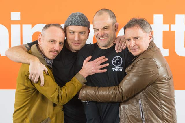 T2 Trainspotting photocall – London