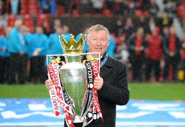 Sir Alex Ferguson won 13 Premier League titles as manager of Manchester United.