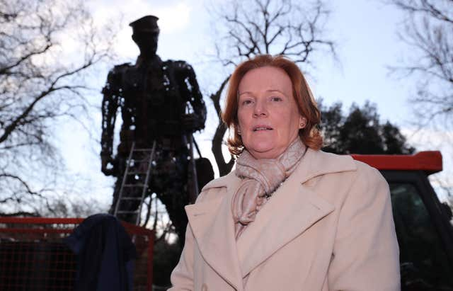 World War One sculpture vandalised
