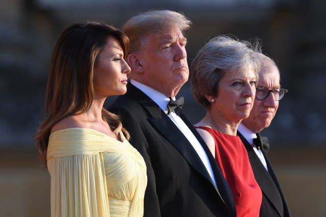 Donald Trump visit to UK