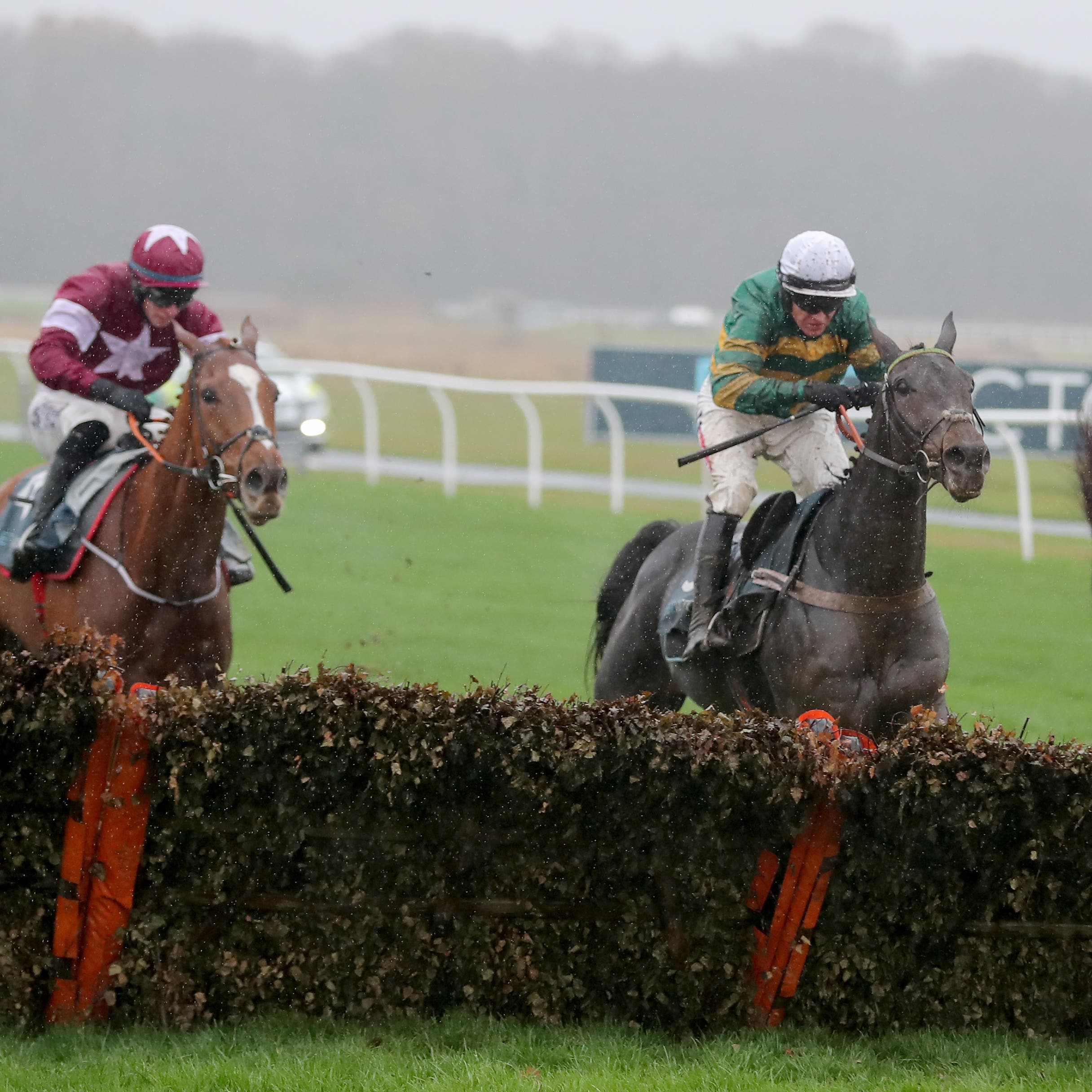 Buveur D'Air sees off Samcro in the Fighting Fifth Hurdle at Newcastle