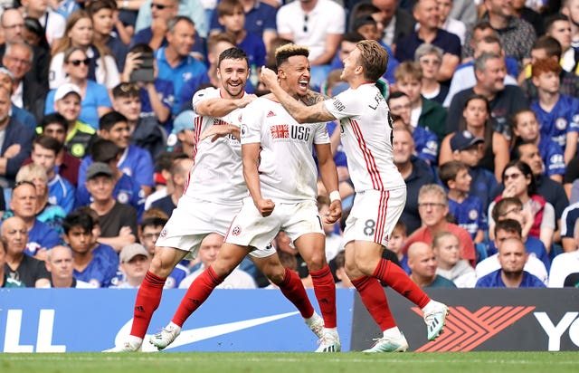Sheffield United stunned Chelsea by coming from 2-0 down to snatch a 2-2 draw at Stamford Bridge