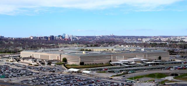 The Pentagon (Niall Carson/PA)