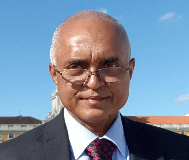 Jitendra Rathod, a surgeon who died in Cardiff after testing positive for Covid-19