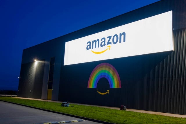 Amazon's Fulfilment Centre in Dunfermline, Scotland