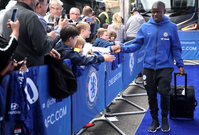 N'Golo Kante has struggled with injury this season