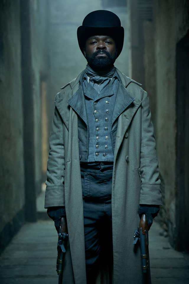 David Oyelowo, in the new BBC adaptation of Les Miserables