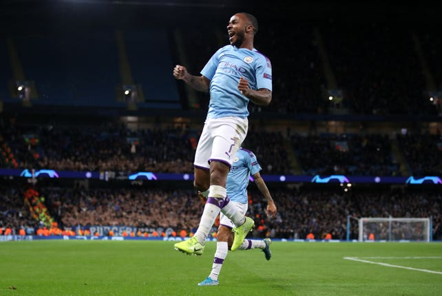 Raheem Sterling wants Manchester City to make their mark in Europe this season