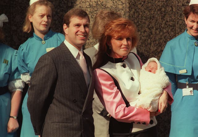 Newborn Princess Eugenie