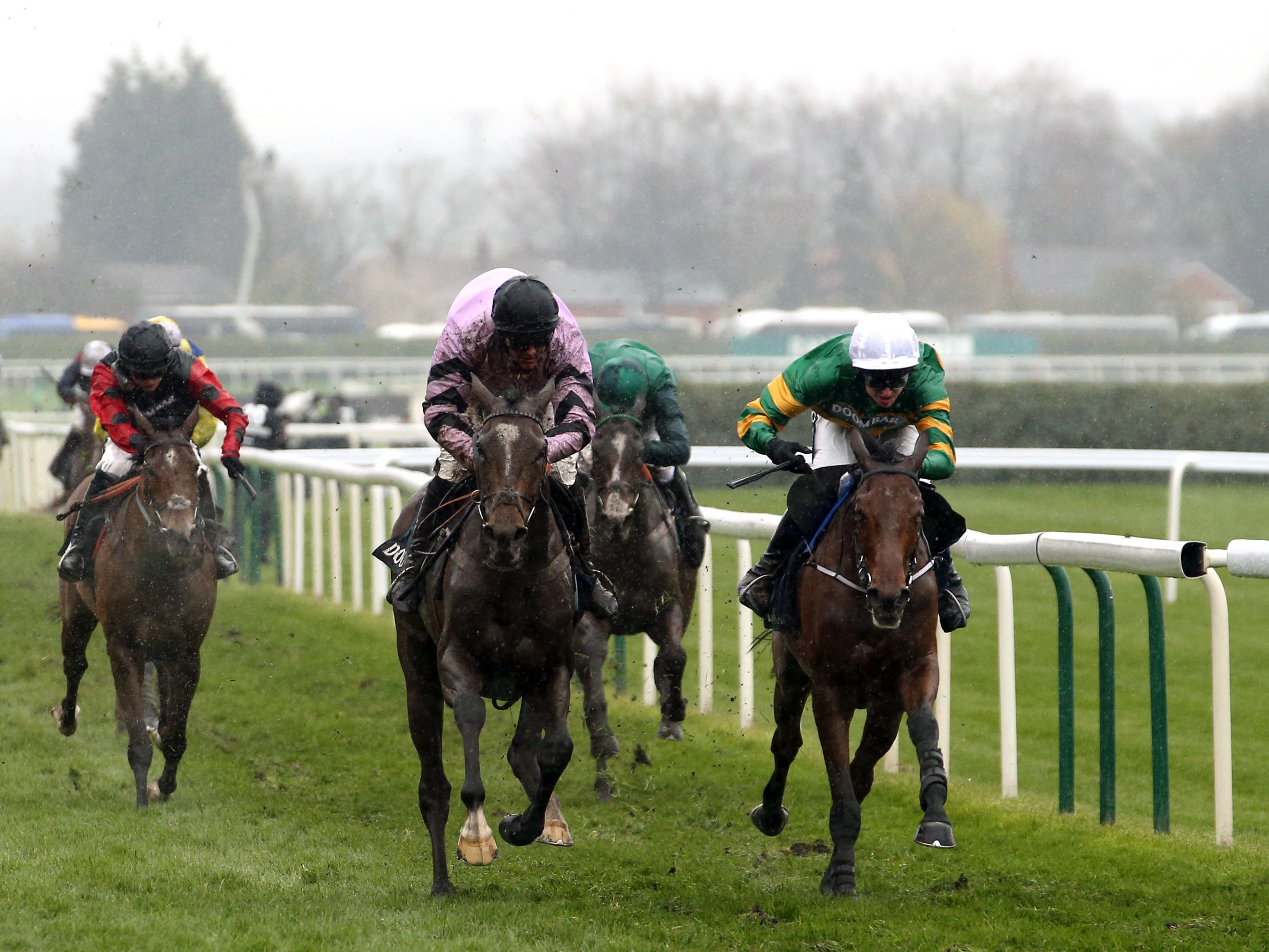 Fakir D'Oudairies (right) has a couple of entries on Boxjng Day (Paul Harding/PA)