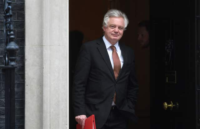 David Davis's newly created Department for Exiting the EU now has around 700 staff (Victoria Jones/PA)