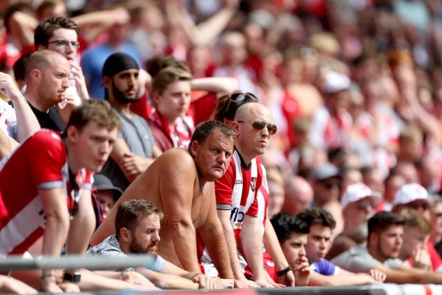 Exeter fans have witnessed two play-off final defeats at Wembley in recent seasons