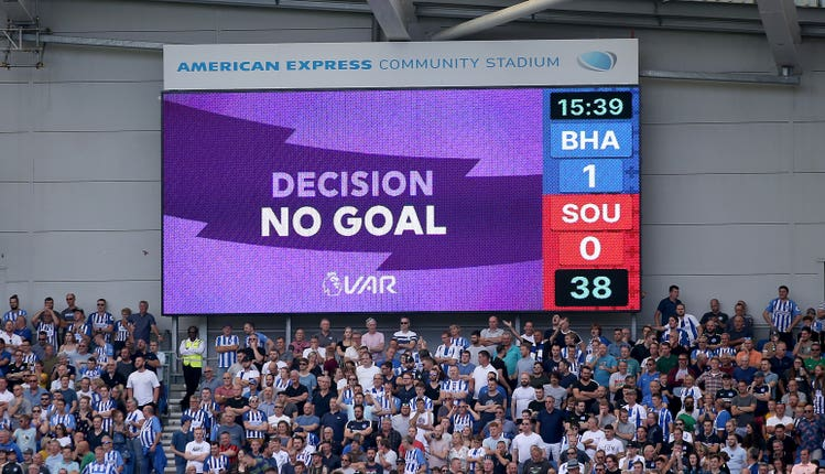 VAR overturns Lewis Dunk's goal and Brighton go on to lose 2-0 to Southampton