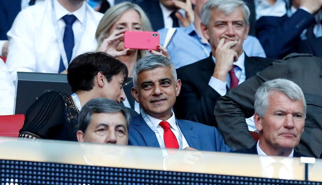 Mayor of London Sadiq Khan says the city is not ready for top-flight football yet.