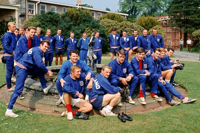 The goalkeeper was selected by manager Sir Alf Ramsey as part of England's 1966 World Cup squad