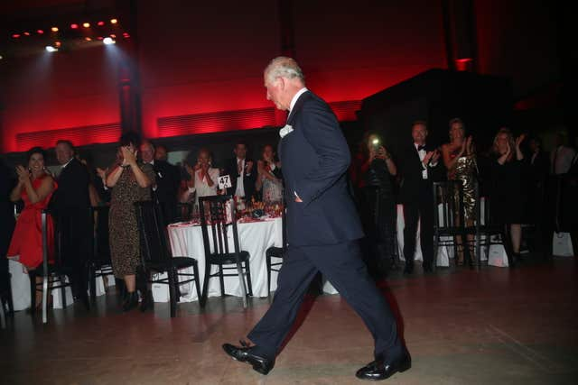 The Prince of Wales at the GQ awards