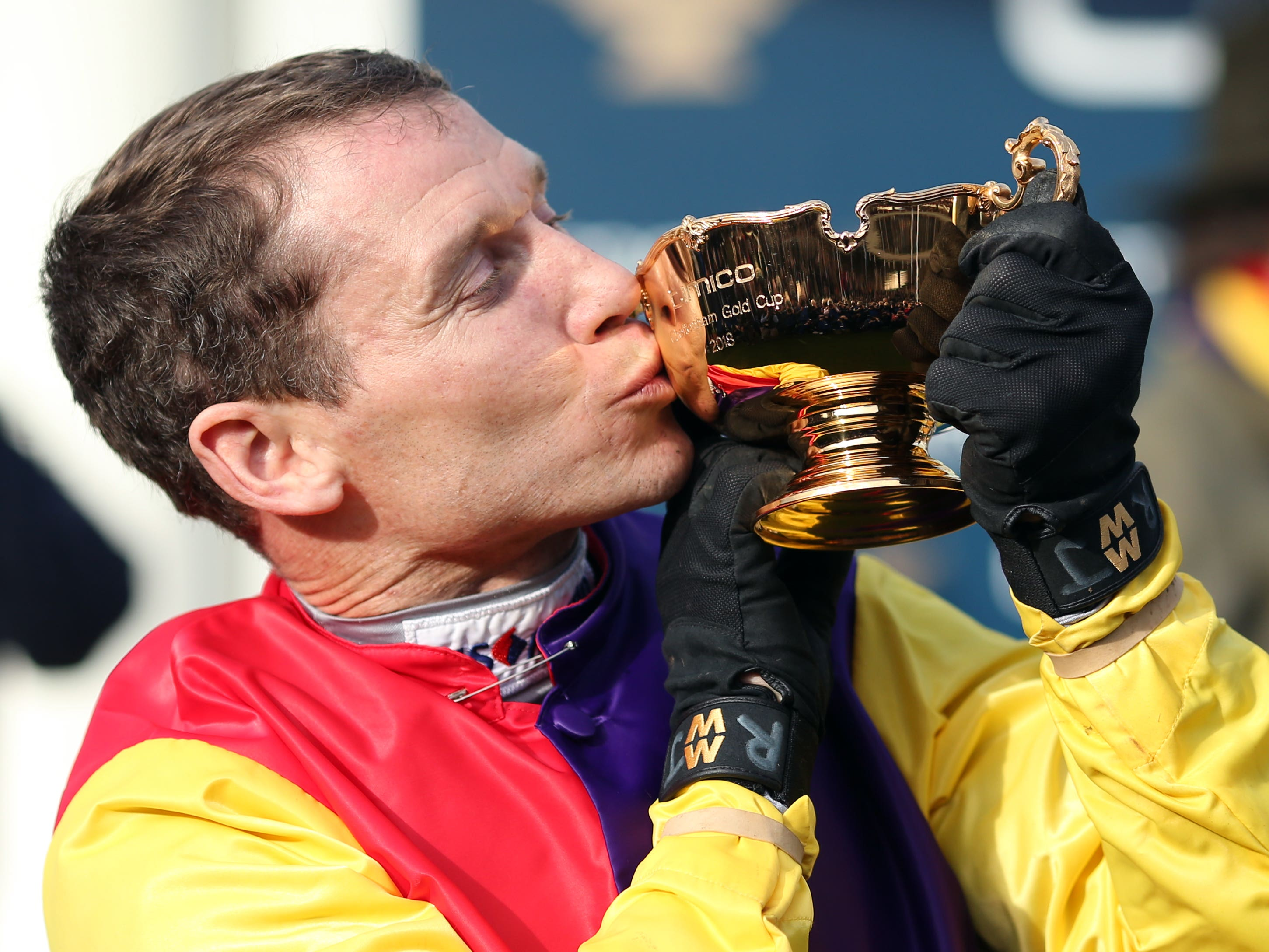 Richard Johnson has called time on his great riding career (Steven Paston/PA)