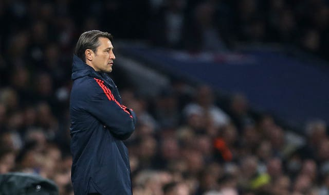 Niko Kovac was dismissed by Bayern Munich after defeat to Frankfurt