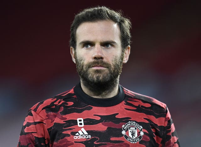 Juan Mata has only made 10 appearances in all competitions this season
