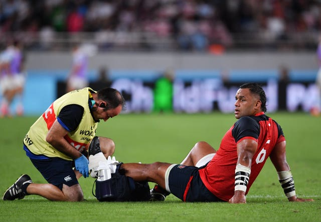 Billy Vunipola has an ankle issue