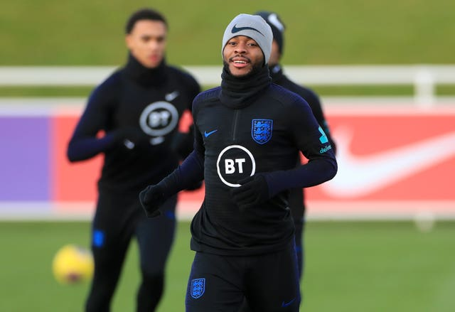 Raheem Sterling has impressed Gareth Southgate in training