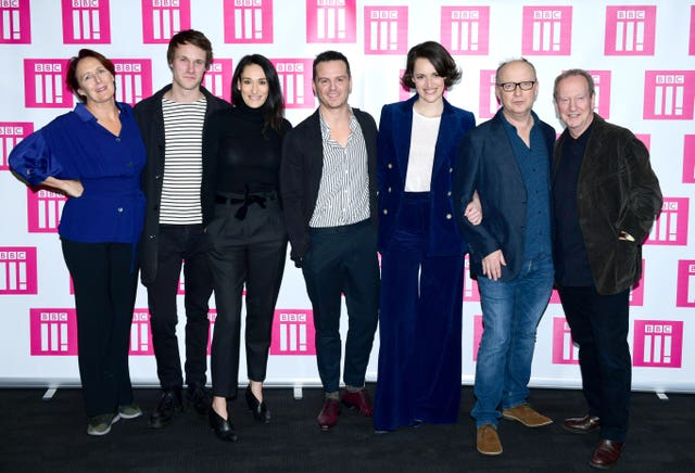 The Fleabag cast (Ian West/PA)