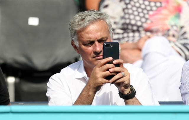 Jose Mourinho spent a day at Wimbledon this summer