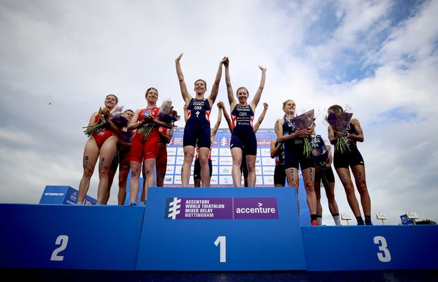 Accenture World Triathlon Mixed Relay – Nottingham Embankment