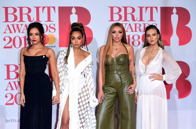 Little Mix finished behind Ed Sheeran in PPL's chart of the most played artists in 2017.