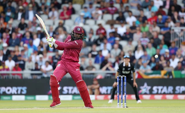 Big-hitting Chris Gayle will also be there