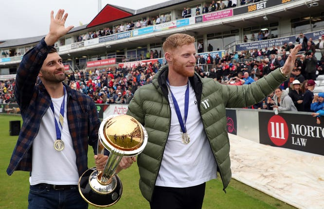 World Cup winners Mark Wood and Ben Stokes are close friends