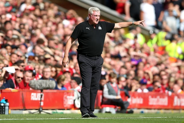 Newcastle boss Steve Bruce was not downhearted after defeat