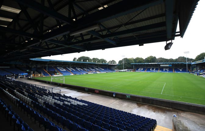 Bury's absence will mean a change to the FA Cup draw