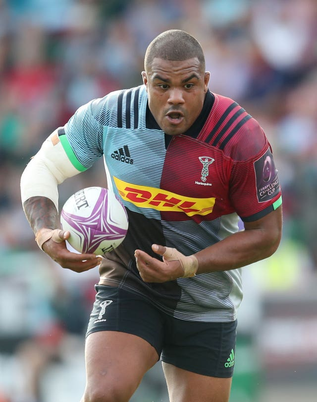 Sinckler in action for club side Harlequins
