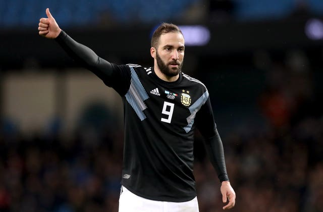 Gonzalo Higuain file photo