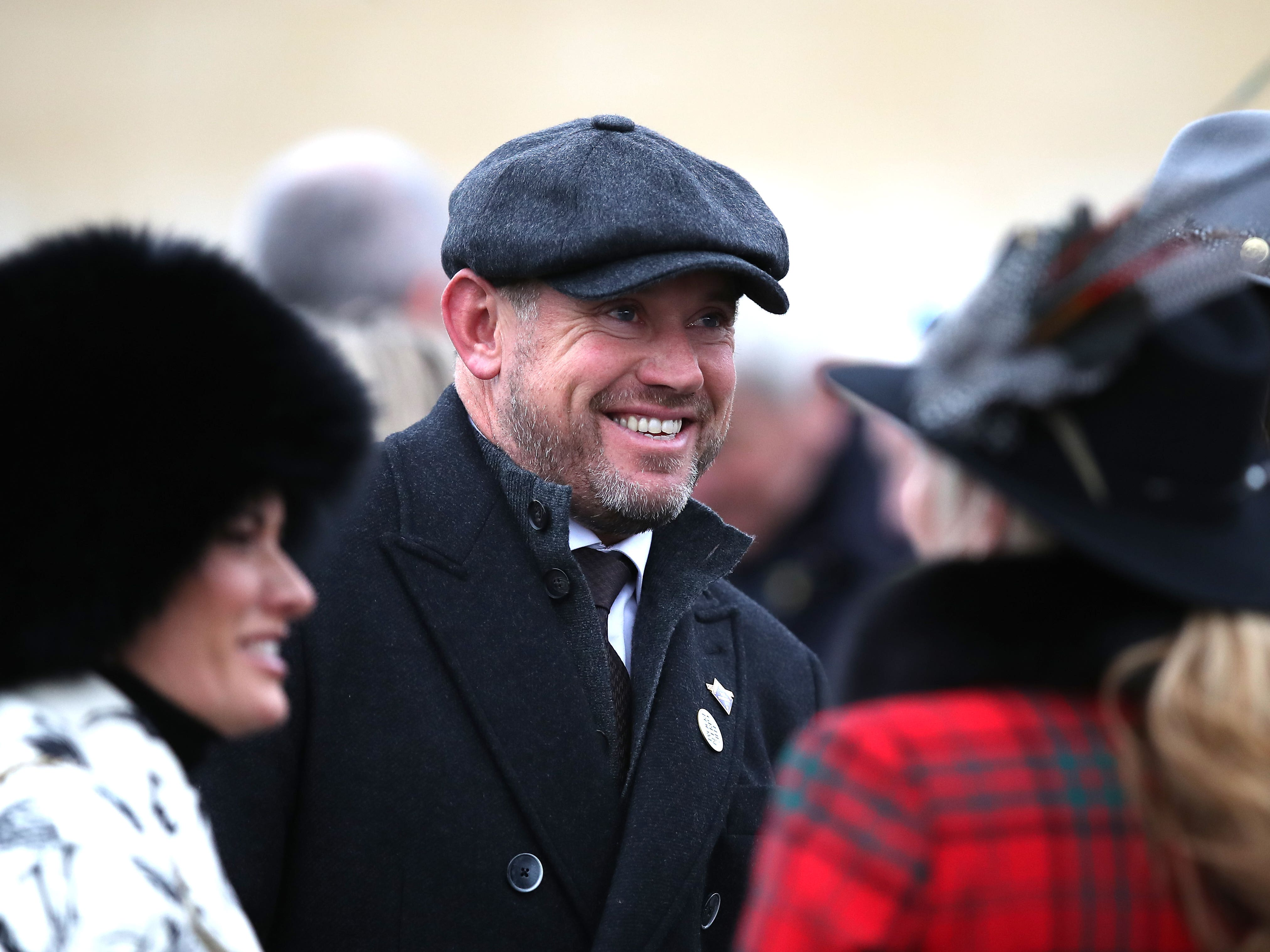 Lee Westwood pictured on day two at Cheltenham (Andrew Matthews)