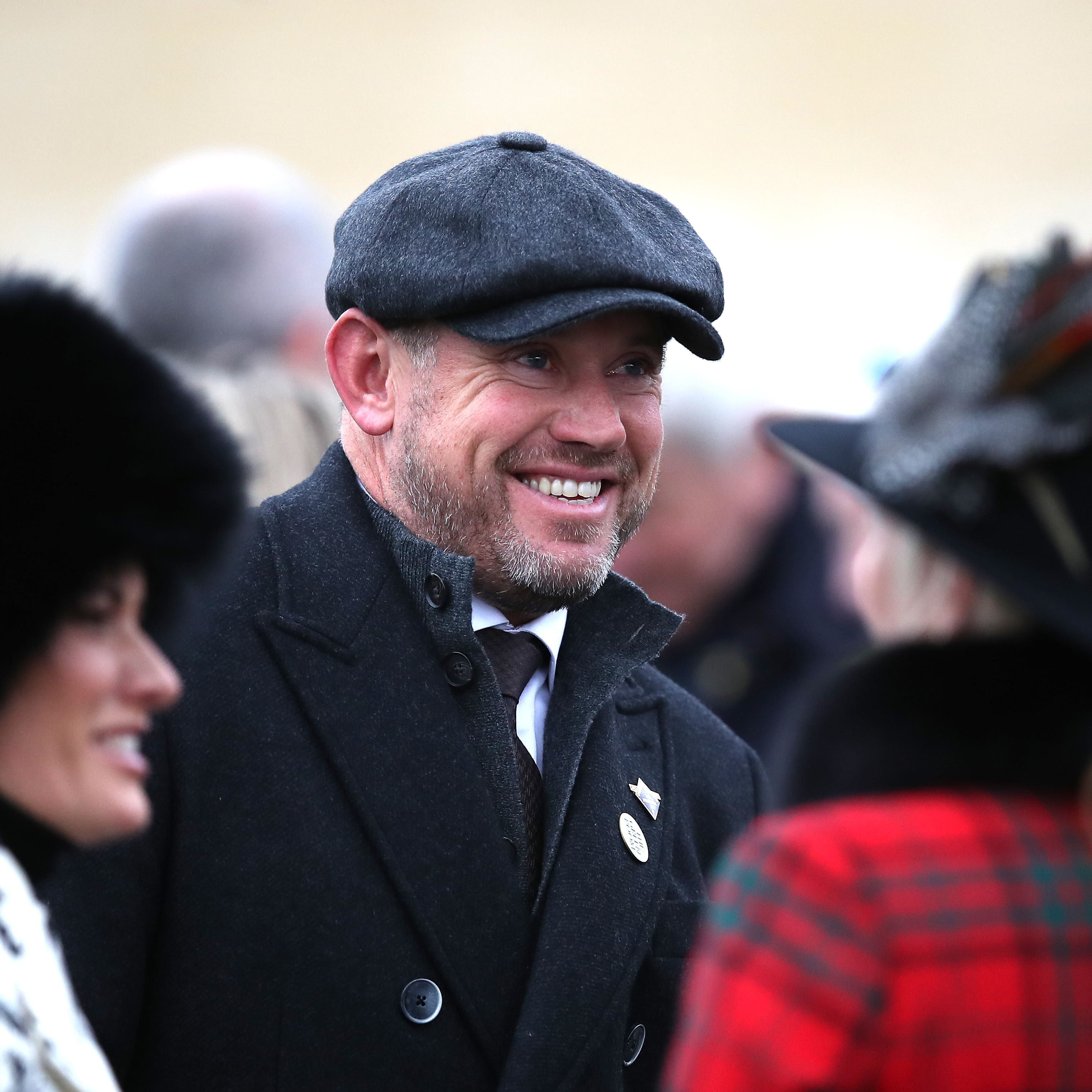 Lee Westwood pictured on day two at Cheltenham