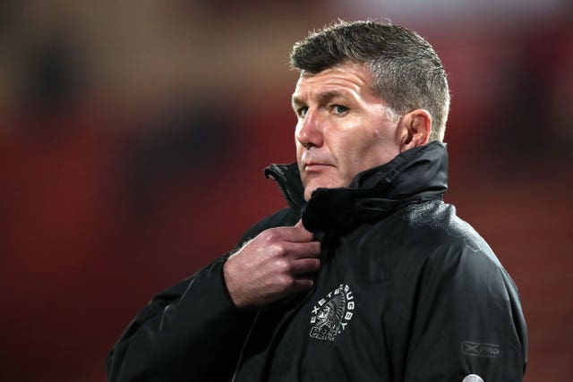 Rob Baxter File Photo