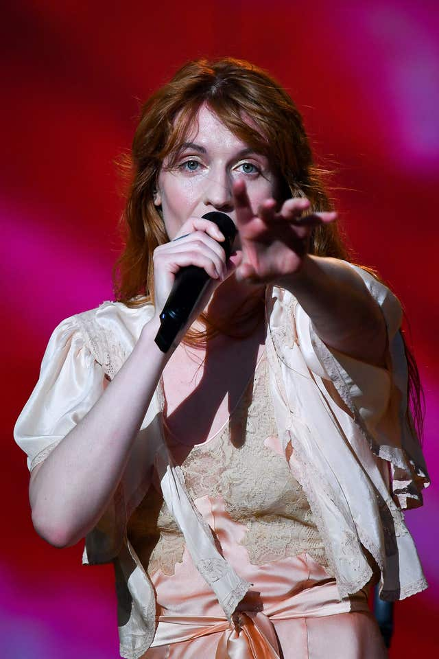 Florence and the Machine at BBC Radio 1's Big Weekend in Swansea