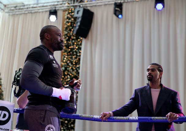 Chisora is managed by former foe David Haye (Steve Paston/PA)